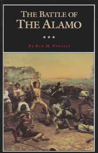 The Battle of the Alamo (Fred Rider Cotten Popular History Series) cover
