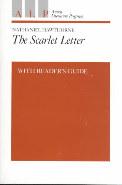 The Scarlet Letter: With Reader's Guide cover