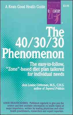 The 40/30/30 Phenomenon cover