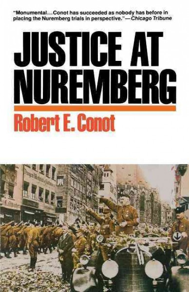Justice at Nuremberg cover