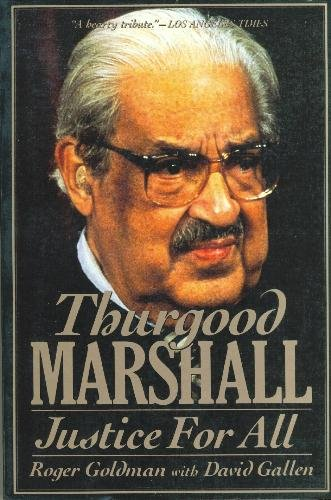 Thurgood Marshall: Justice for All cover
