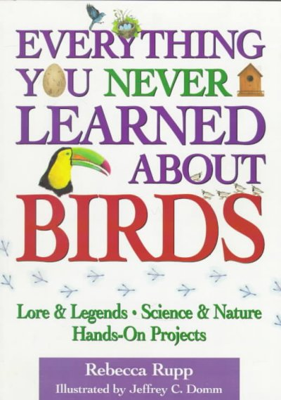Everything You Never Learned About Birds cover