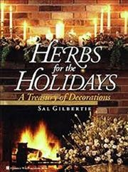 Herbs for the Holidays cover