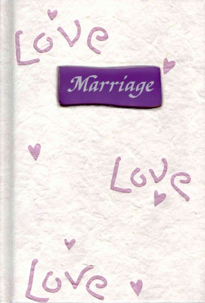 Marriage: A Blue Mountain Arts Collection For Two People Committed To A Lifetime Of Love (Shapes of Life) cover