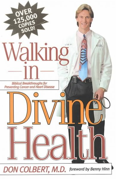 Walking in Divine Health cover