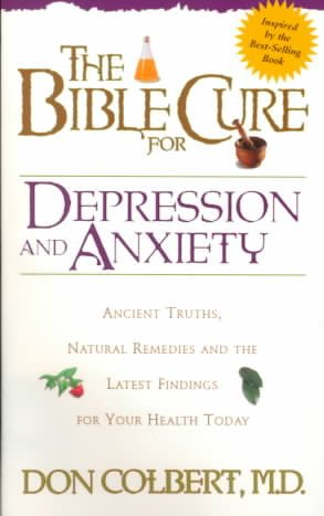 Bible Cure For Depression/Anxiety (Fitness and Health) cover