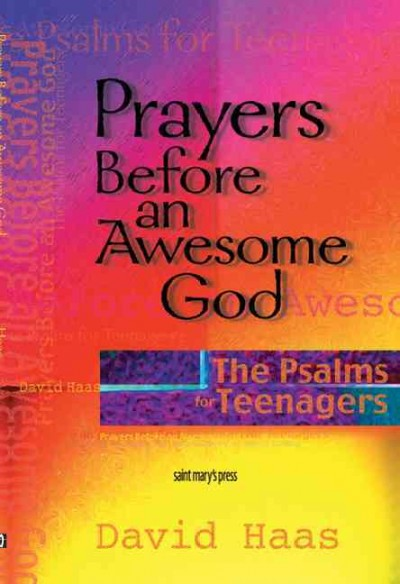 Prayers Before an Awesome God: The Psalms for Teenagers cover