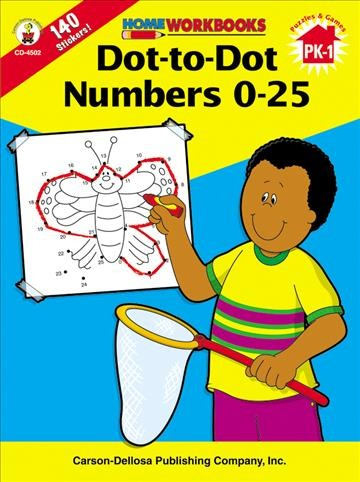 Dot-to-Dot: Numbers 0-25 (Home Workbooks) cover