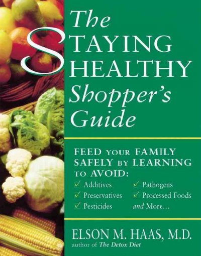 The Staying Healthy Shopper's Guide cover