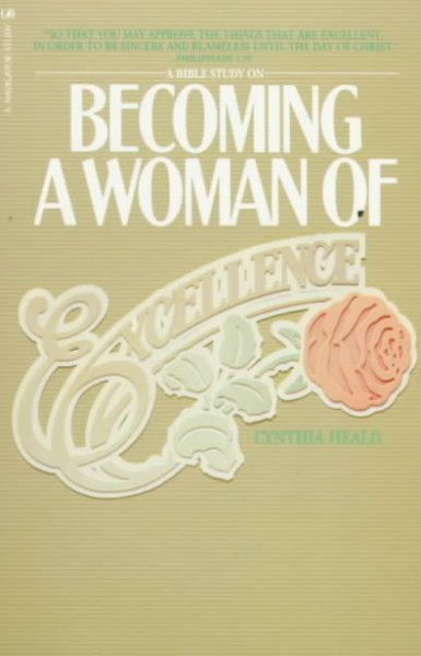 Becoming a Woman of Excellence cover