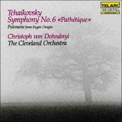 Tchaikovsky: Symphony No. 6 / Polonaise from Eugene Onegin cover