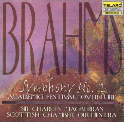Brahms: Symphony No. 1 in C minor, Op. 68 / Academic Festival Overture, Op. 80 cover