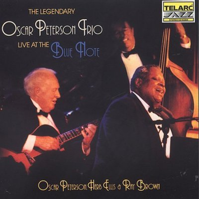 The Legendary Oscar Peterson Trio Live at The Blue Note cover
