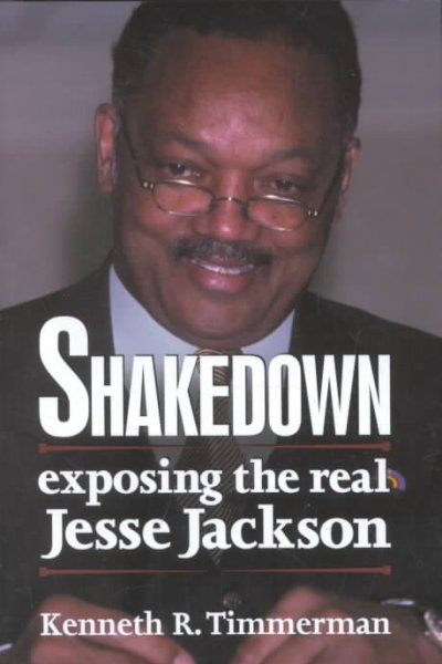 Shakedown: Exposing The Real Jesse Jackson cover