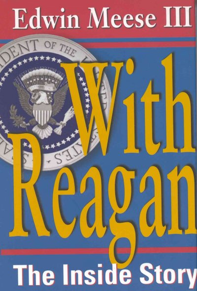 With Reagan: The Inside Story cover