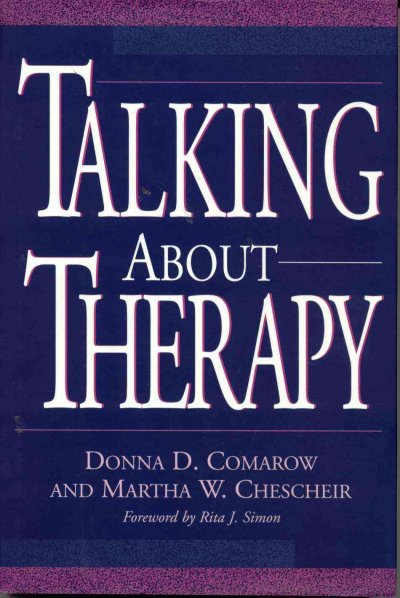 Talking About Therapy cover