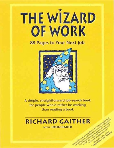 Wizard of Work: 88 Pages to Your Next Job cover