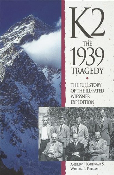 K2: the 1939 Tragedy cover