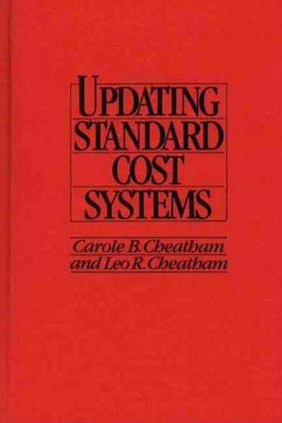 Updating Standard Cost Systems cover