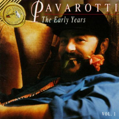 Pavarotti The Early Years Volume 1 cover