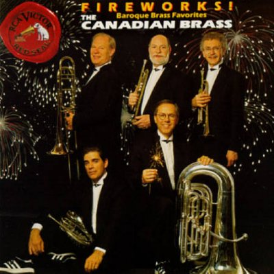 Fireworks! - Baroque Brass Favorites/Canadian Brass cover