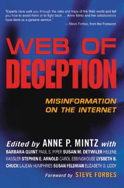 Web of Deception: Misinformation on the Internet cover