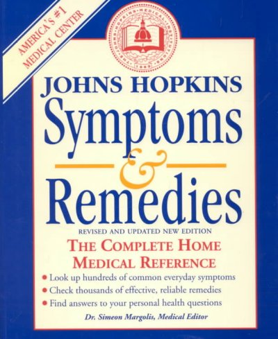 Johns Hopkins Symptoms & Remedies: The Complete Home Medical Reference cover