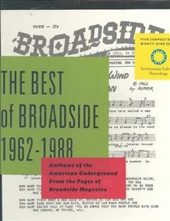 The Best of Broadside 1962-1988 cover