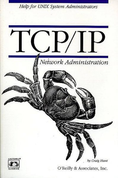 TCP/IP Network Administration cover