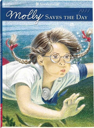 Molly Saves the Day (American Girl Collection) cover