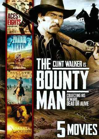 The Bounty Man / Aces N' Eights / Prairie Fever / Bullets Don't Argue / Sabata the Killer cover