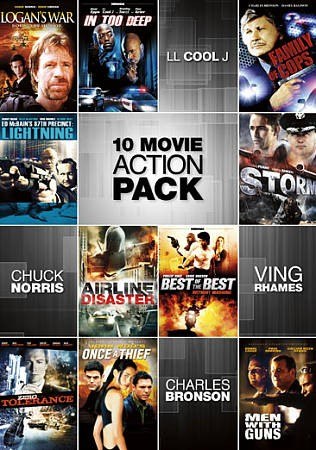 10-Movie Action Pack cover