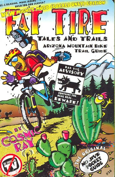 Fat Tire Tales & Trails: Arizona Mountain Bike Trail Guide cover