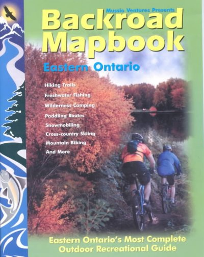 Backroad Mapbook Eastern Ontario cover