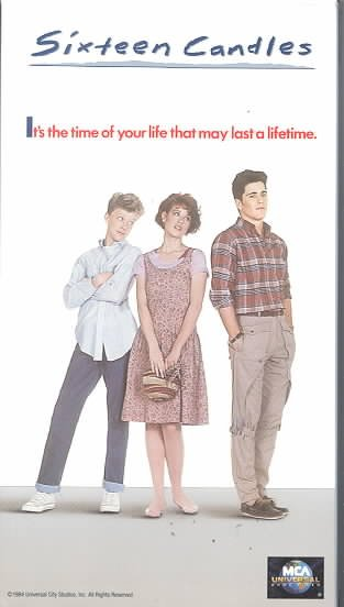 Sixteen Candles [VHS] cover