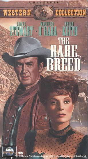 The Rare Breed [VHS] cover