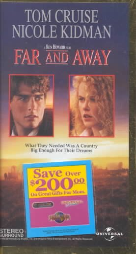 Far and Away (Widescreen Edition) [VHS] cover