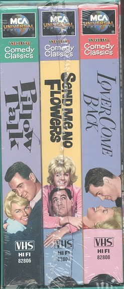 The Rock Hudson & Doris Day Collector's Set (Pillow Talk / Send Me No Flowers / Lover Come Back) [VHS] cover