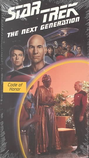 Star Trek - The Next Generation, Episode 4: Code Of Honor [VHS] cover