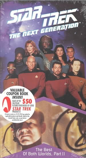 Star Trek - The Next Generation, Episode 75: The Best Of Both Worlds, Part II [VHS] cover