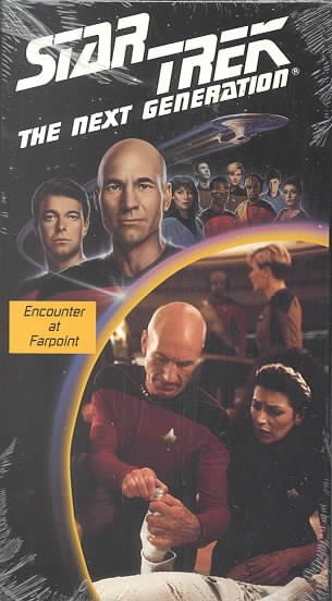 Star Trek - The Next Generation, Episodes 1 & 2: Encounter at Farpoint, Parts I & II (Premiere) [VHS] cover