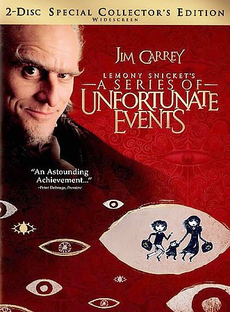 Lemony Snicket's A Series of Unfortunate Events (2-Disc Special Collector's Edition) cover