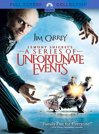 Lemony Snicket's a Series of Unfortunate Events (Full Screen Edition) cover
