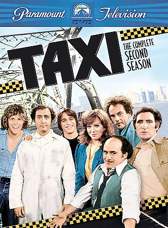 Taxi - The Complete Second Season cover