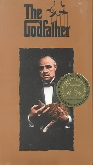 The Godfather [VHS] cover