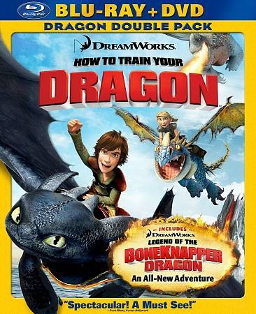 How to Train Your Dragon (Two-Disc Blu-ray/DVD Combo) cover