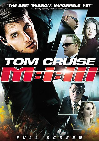 Mission: Impossible III (Full Screen Edition) cover