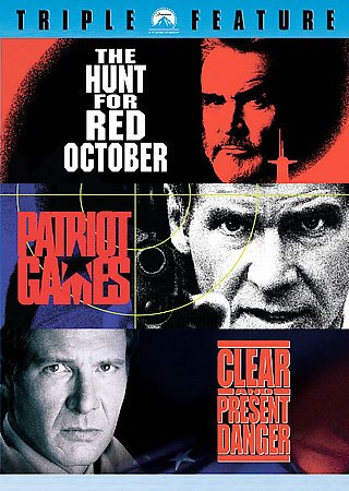 Jack Ryan 3 Pack (The Hunt for Red October / Patriot Games / Clear and Present Danger) cover