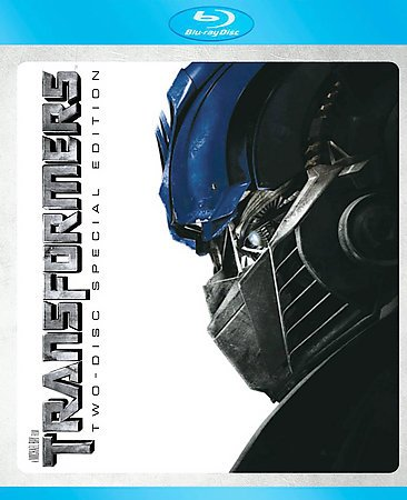 Transformers (Two-Disc Special Edition + BD Live) [Blu-ray] cover