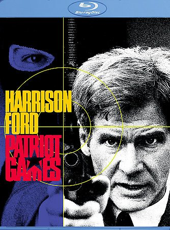 Patriot Games [Blu-ray] cover